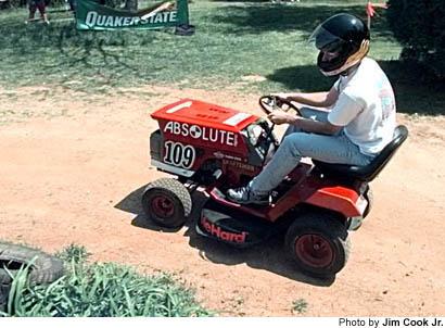 off road mower dan washburns sporting life lawn mower racing just dont wreck